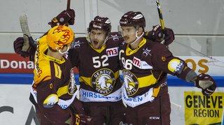 Hockey: Genève s'offre une belle victoire, Davos aussi