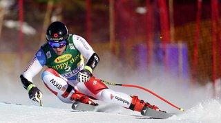 Ski alpin: Mauro Caviezel termine 3e au super-G de Lake Louise