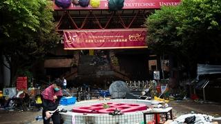 Hong Kong, champ de bataille