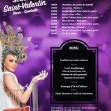 Saint Valentin Dîner Spectacle