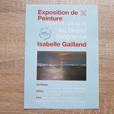 Isabelle Gailland expose au Chalet Diognysos