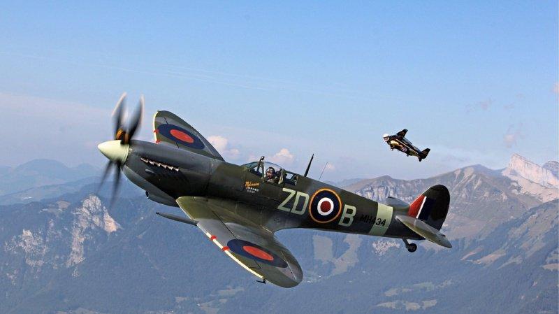 Grande-Bretagne: un Spitfire de retour après un tour du monde inédit
