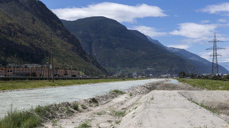 Vaud-Valais: le Parlement libère un milliard de francs pour la troisième correction du Rhône