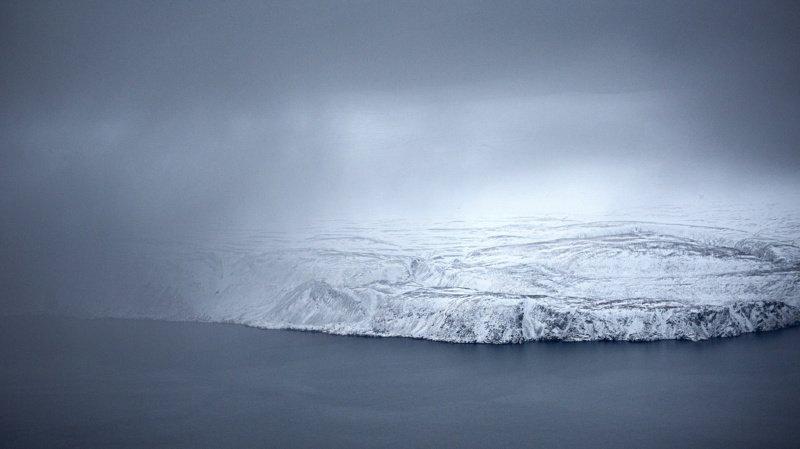 La calotte glaciaire du Groenland est la deuxième plus grande du monde après celle de l'Antarctique. (Keystone archives)