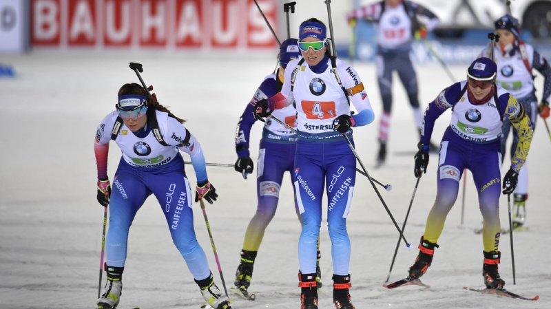 Biathlon: exploit du relais féminin, 2e de la manche de Coupe du monde d'Ostersund