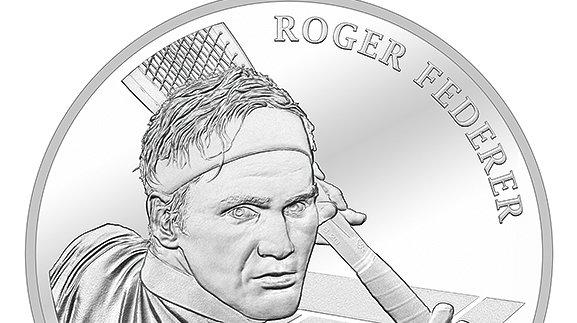 La pièce de monnaie à l'effigie de Roger Federer est déjà épuisée