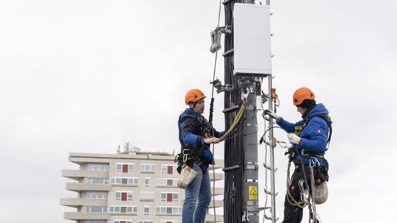 Le canton de Vaud ne tolérera que des modifications mineures, sans augmentation de puissance, sur les antennes existantes (illustration).