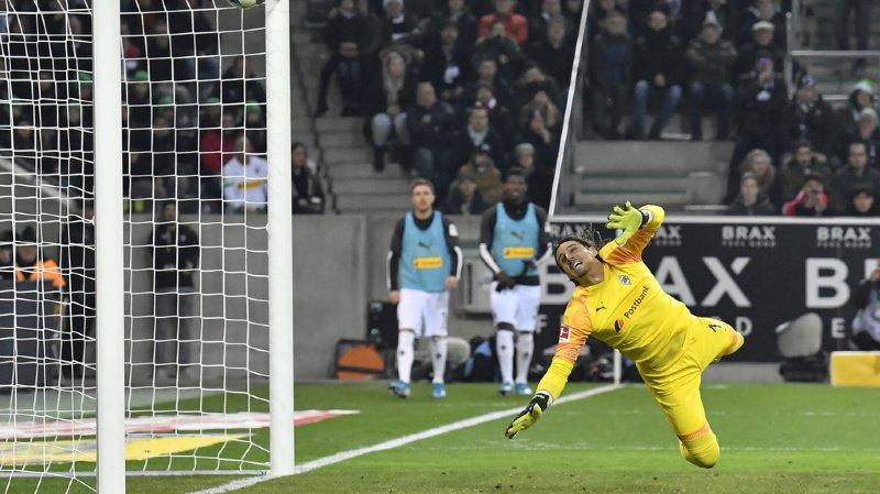 Héros face au Bayern Munich le weekend dernier, Yann Sommer porte une grosse part de responsabilité dans l'élimination de 'Gladbach.