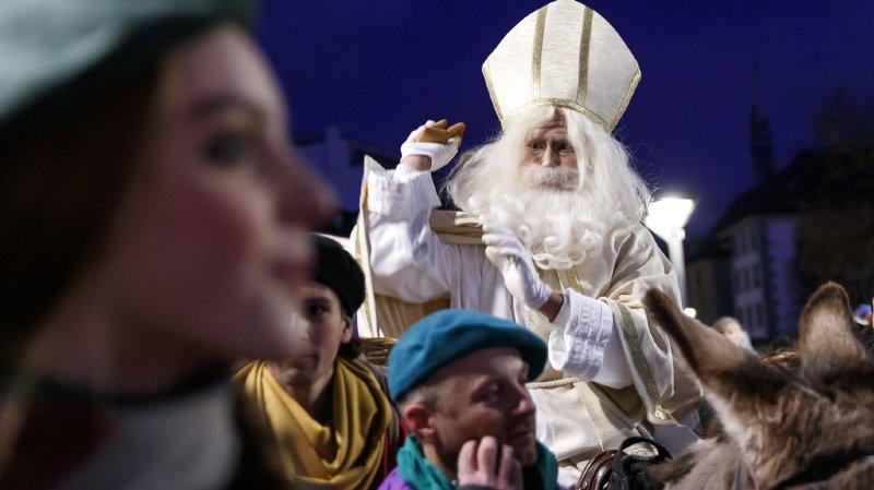 Fribourg: le défilé de Saint-Nicolas a attiré près de 30'000 personnes