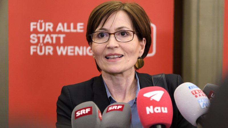 Conseil fédéral: seuls le PS et les Verts voteront Regula Rytz