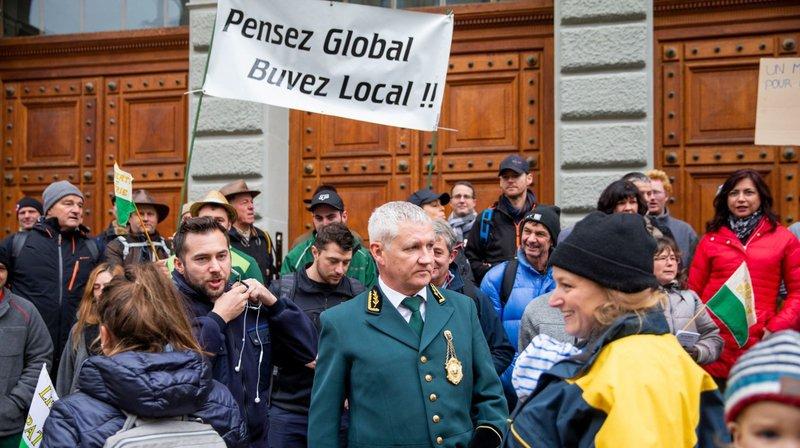 Genève veut réduire l'importation de vins étrangers