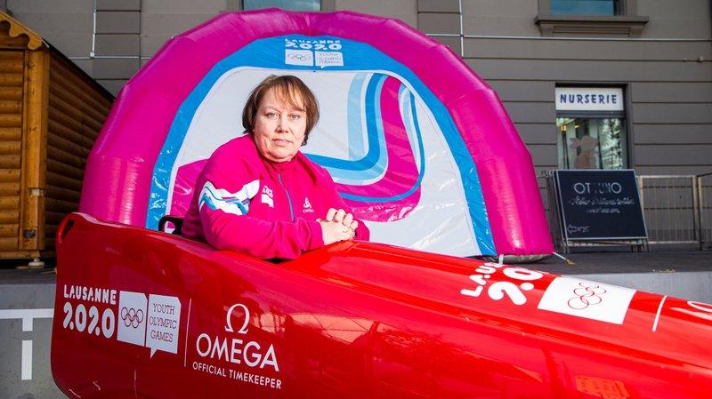 A Lausanne, l'ancienne athlète olympique se met au service des autres