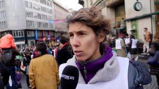 Extinction Rebellion rejoint par des professionnels de santé à Lausanne