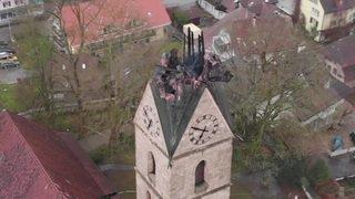 Berne: l'église d'Herzogenbuchsee est fortement endommagée
