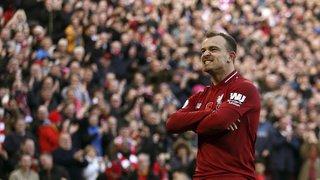 Football: Xherdan Shaqiri fait trembler les filets pour sa première titularisation de la saison avec Liverpool