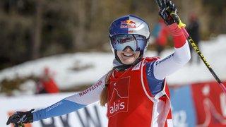 Skicross: la Vaudoise Fanny Smith vainqueur du skicross de Val Thorens