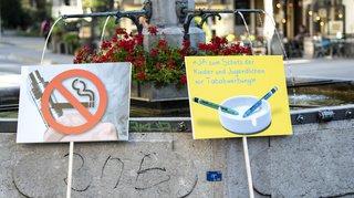 Initiative contre la publicité pour le tabac: le Conseil fédéral recommande son rejet