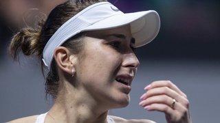 Tennis: Belinda Bencic élue joueuse ayant effectué le meilleur comeback