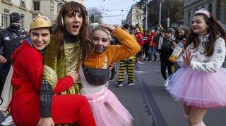 Genève: défilé et mousse à raser pour l'Escalade