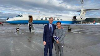 Diplomatie: les Etats-Unis et l'Iran ont échangé deux prisonniers sur le sol suisse