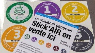 Genève: premier couac pour la vignette antipollution