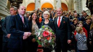 A Berne, Isabelle Moret marque l'histoire en accédant au perchoir