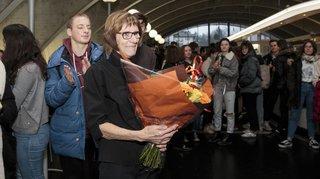 Nyon: en 32 ans, Annick Barbier a marqué des générations de gymnasiens