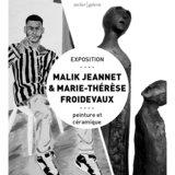 Malik Jeannet et Marie - Thérèse Froidevaux
