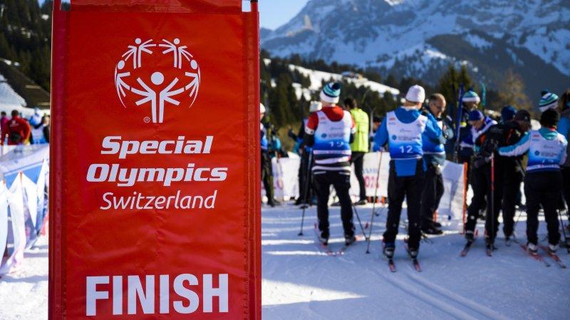 Villars accueille les jeux d'hiver nationaux de Special Olympics