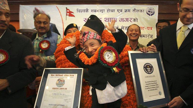 Népal: l'homme le plus petit du monde est décédé à 27 ans