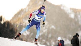 Biathlon: le relais féminin suisse a terminé 3e à Ruhpolding