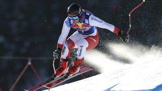 Ski alpin: Feuz et Caviezel dans le top 10 du super-G de Kitzbühel