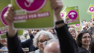 Assemblée des délégués: les Verts plaident pour une politique sociale du climat