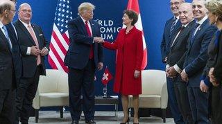 Le choc de deux visions au Forum de Davos